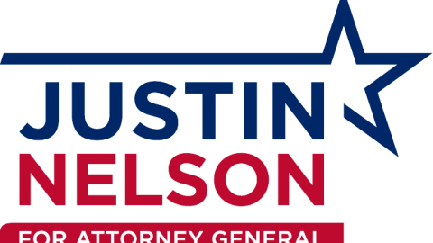 Justin Nelson for Attorney General Logo