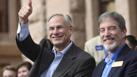 Gov. Abbott won't say if he voted for Paxton, Miller or Bush